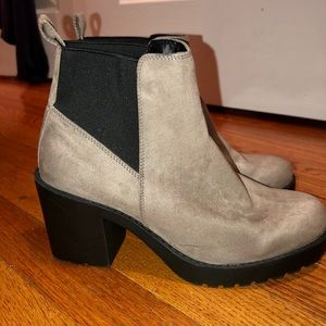 Stylish Suede Booties - never worn!